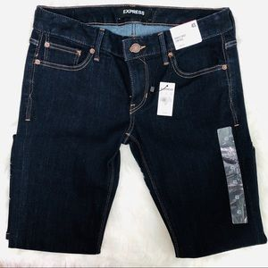 Express Jeans - Express Barely Boot Low Rise Jeans | 4 Short NWT